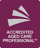 Logo for accredited aged care professional