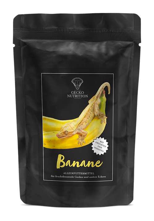 Gecko Nutrition Banan 50 gram