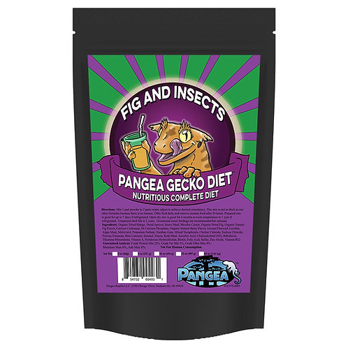 Pangea Fig & Insects Gecko Diet 227gram