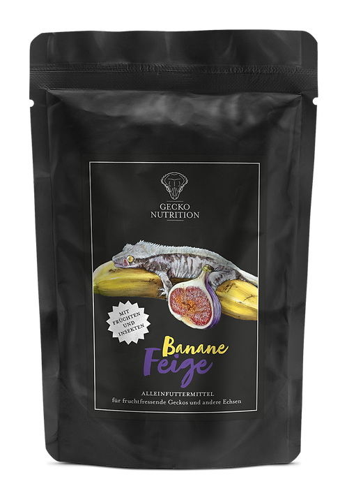 Gecko Nutrition Banan/Fikon 50 gram