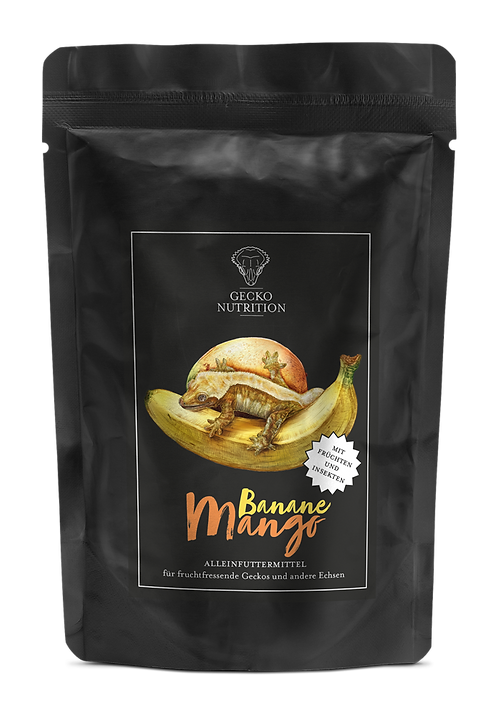 Gecko Nutrition Banan/mango 50 gram