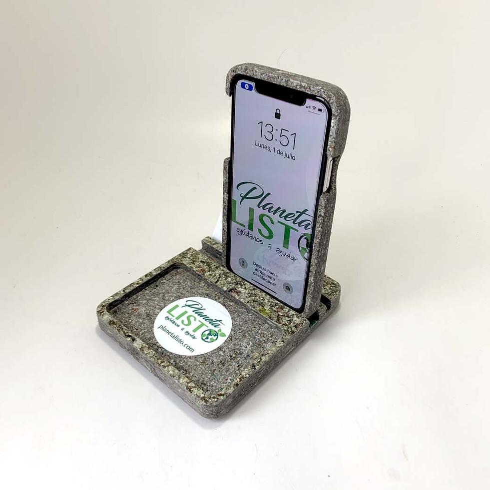 Soporte para celular de escrito