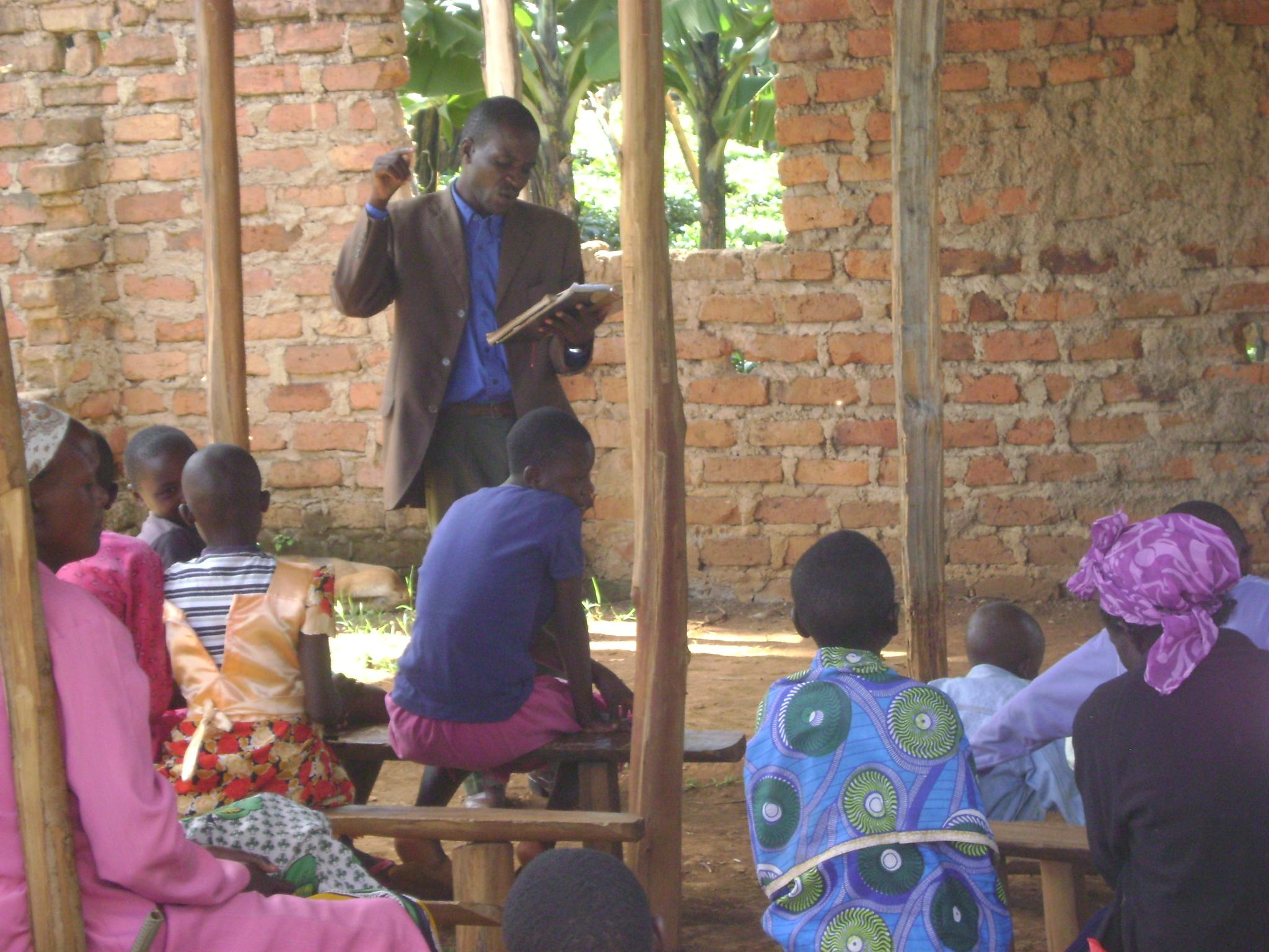 Pastor Samson Preaching