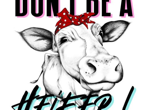 Don't be a Heifer