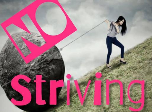 No Striving