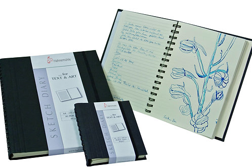 The Sketch Diary Spiral Book