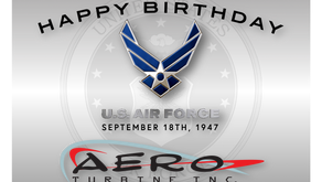 Happy 74th Birthday to the USAF!