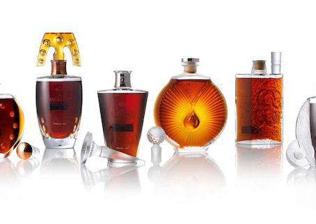 Bonhams Whisky Auction in Hong Kong offers 6 Rare Macallans in Lalique crystals