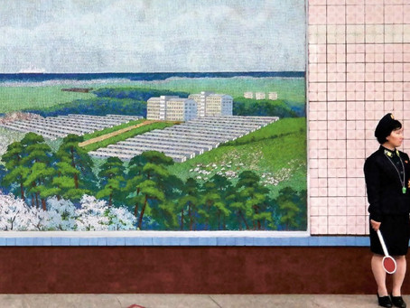 Unlikely Pastel Interiors of the Hermit Kingdom