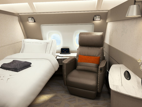 """New SQ A380 Suites: Your Own """"Comfort Zone"""""""
