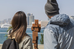 Hong Kong citizens engaging with Harbour Arts Sculpture Park 2018 (6) All images courtesy of Harbour