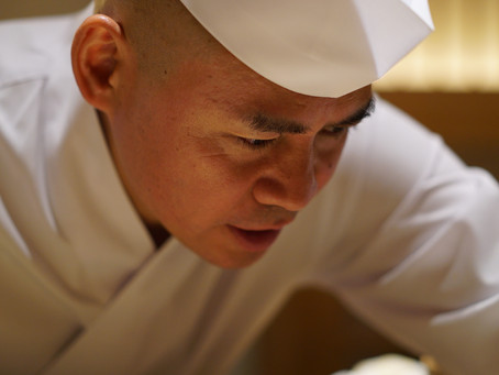 The First Sushi Saito Outside Japan Now at the Four Seasons in Hong Kong