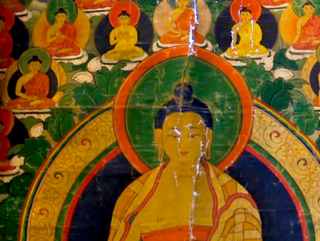 """Conservator Ann Shaftel on """"Science and the Sacred: The Preservation of Buddhist Thangka"""""""