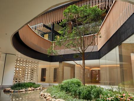 "Natural Japanese ""tea room"" designs incorporated in new development Fleur Pavilia"