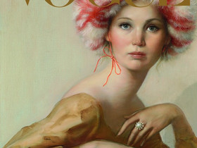 Jennifer Lawrence Covers Vogue's September Issue In A John Currin Painting