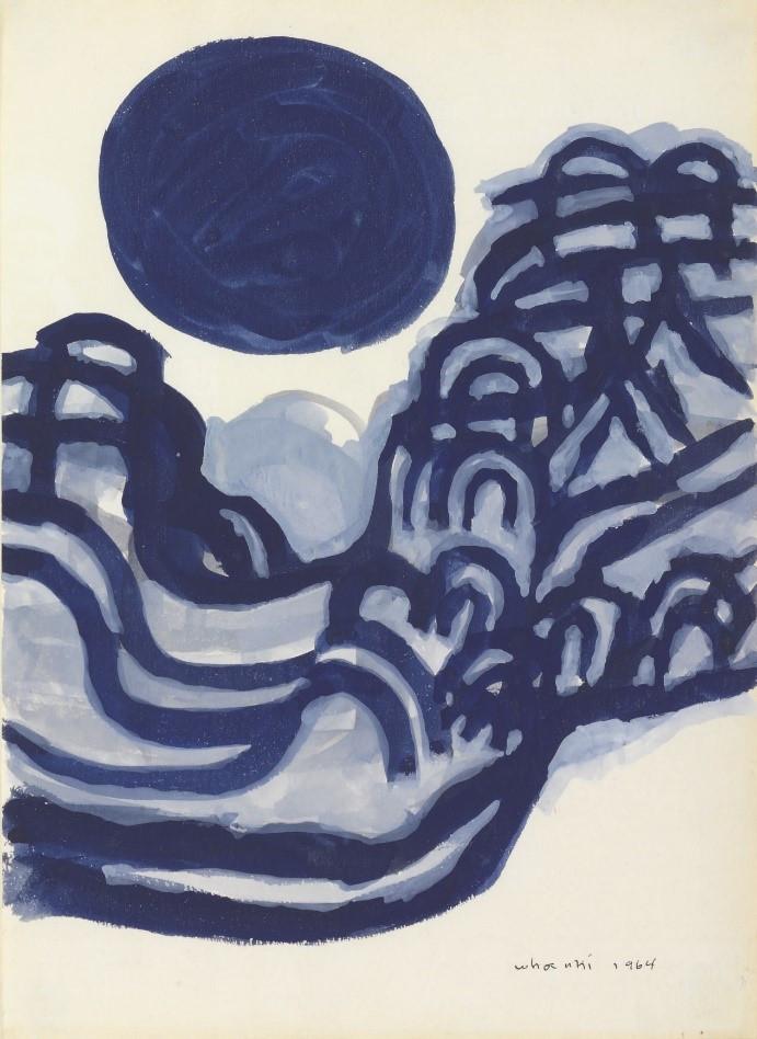 Kim WhanKi, Mountain and Moon