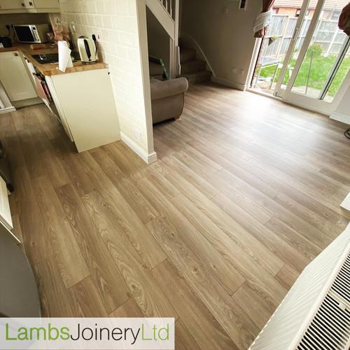 oak effect laminate