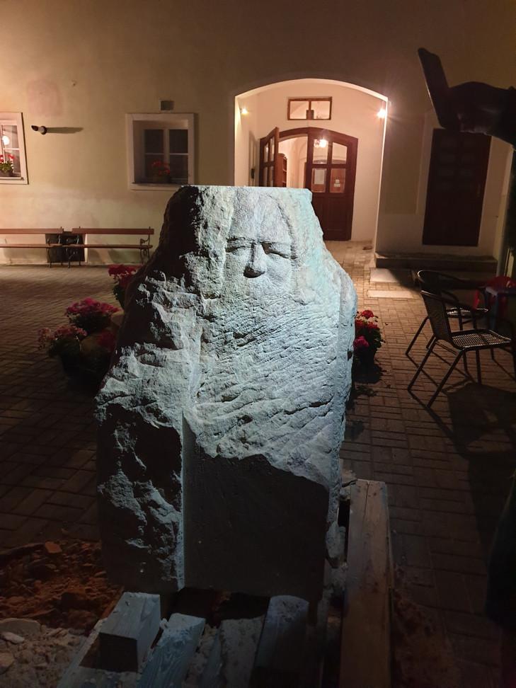 Nová socha pro Fláje - sv. Jan Křtitel