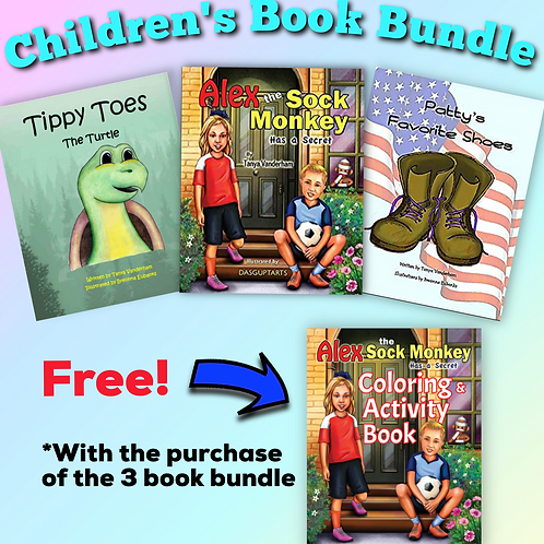 Three Book Bundle + Free Coloring & Activity Book