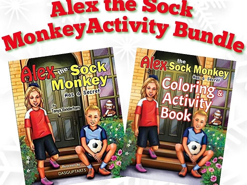 Alex the Sock Monkey Activity Bundle