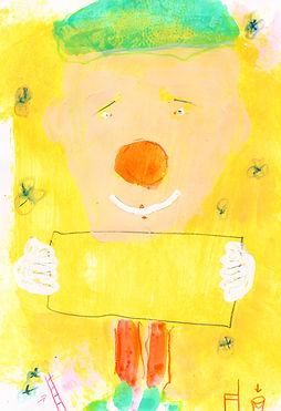 Clown_gemalt_von_Joern_Schlund