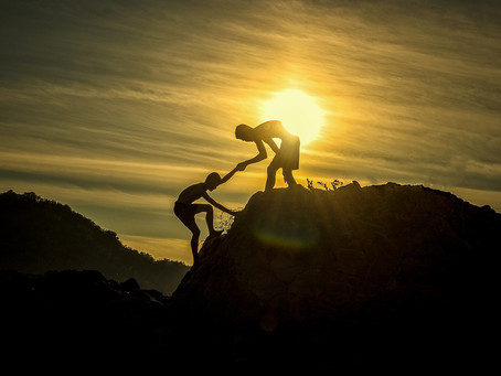 Allowing others to help me, embracing this new way of living.