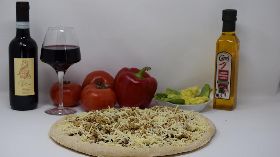 Pizza Béchamel Poulet Champignons