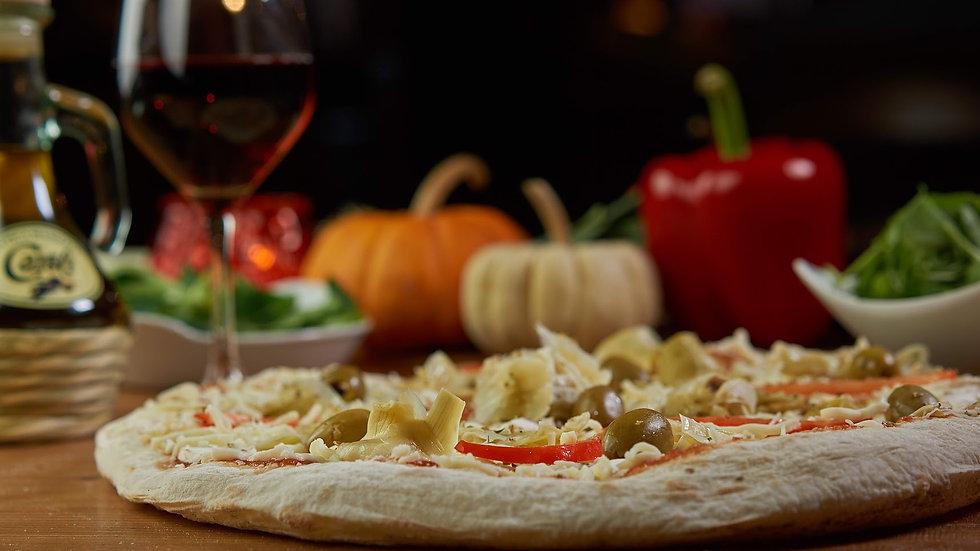 Pizza Tomate Végétarienne