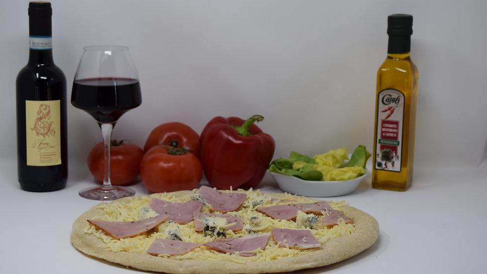 Pizza Béchamel Délicieuse