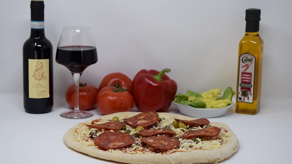 Pizza Tomate Vésuve