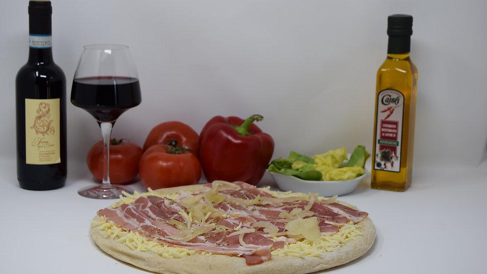 Pizza Béchamel Fermière