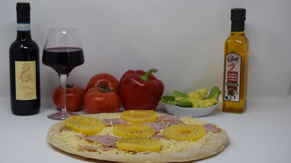 Pizza Béchamel Tropical