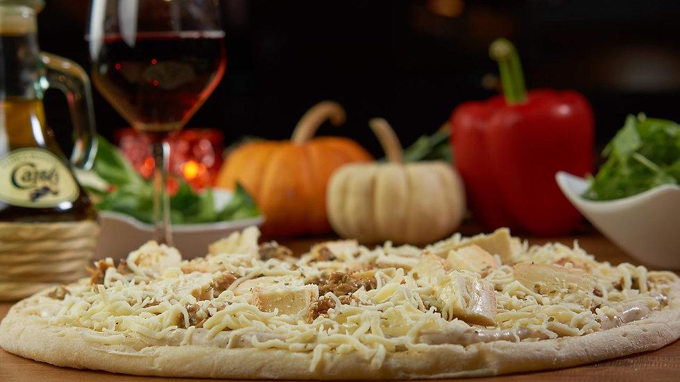 Pizza Béchamel Poulet Maroilles