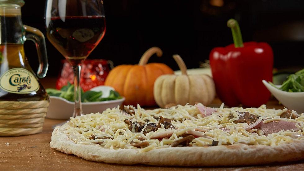 Pizza Béchamel Campagnarde