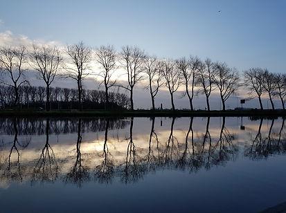Mijn eerste reflectie foto - Peter Haitsma