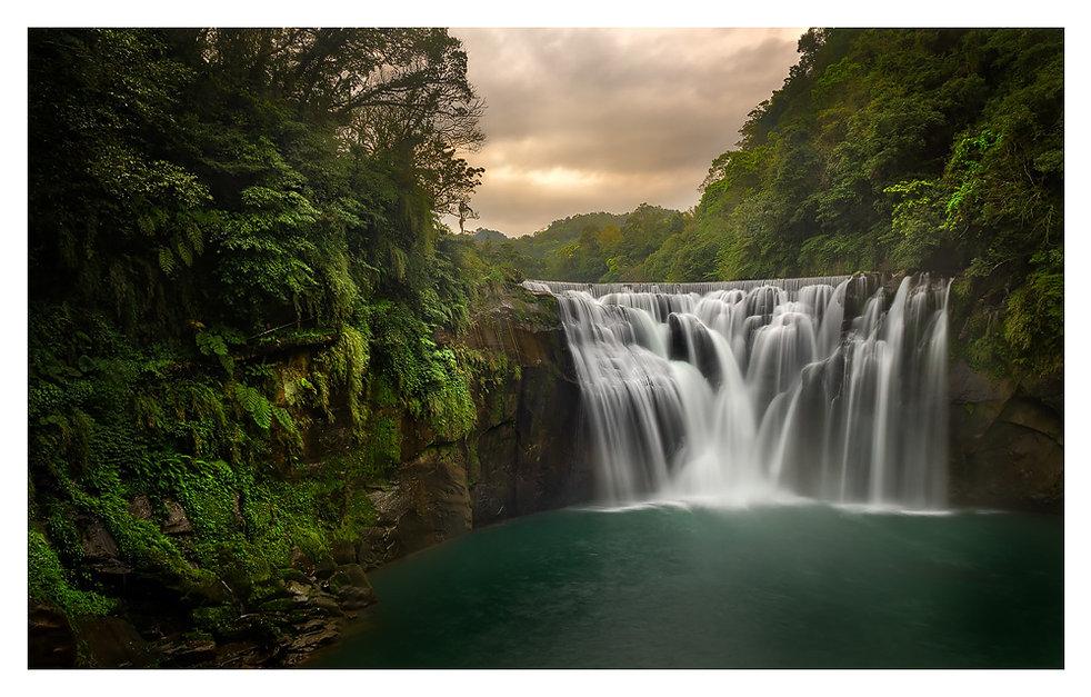 Shifen Waterval - Taiwan. Jos Pannekoek