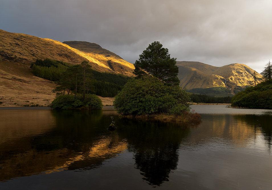 Lochan Urr - Reisblog Gelncoe (Schotland) - Jos Pannekoek