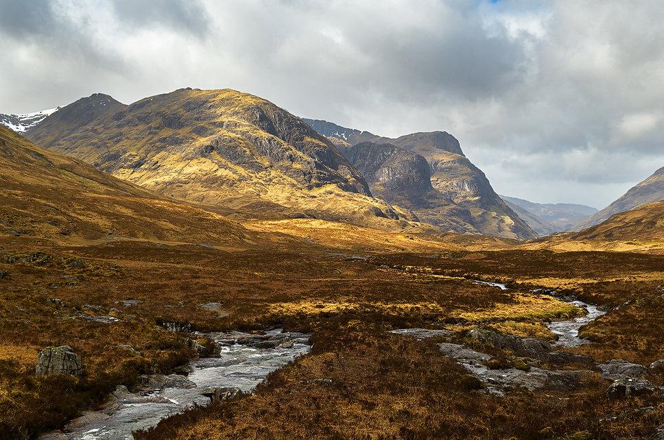Bidean nam Bian - Three Sisters - Reisblog Gelncoe (Schotland) - Jos Pannekoek