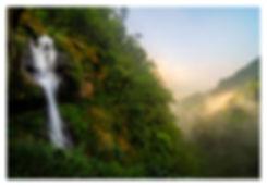 Longgong waterval. Jos Pannekoek