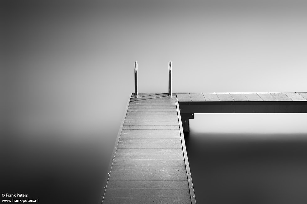Peters Study Bathing Jetty 2 - Frank Peters