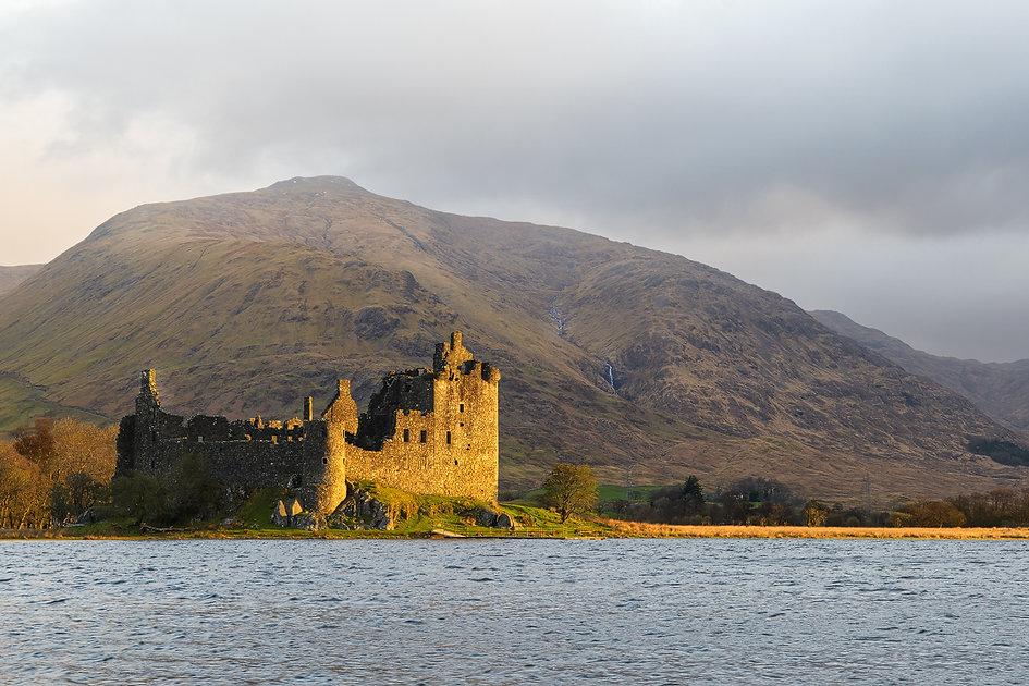 Kilchurn Castle - Reisblog Gelncoe (Schotland) - Jos Pannekoek