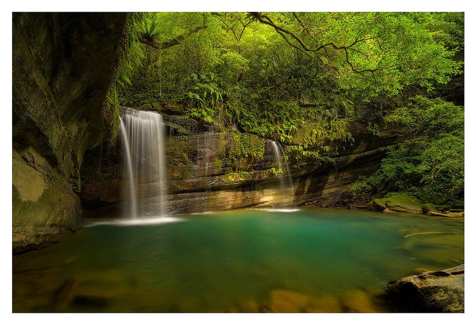 Wanggu Waterval - Taiwan. Jos Pannekoek