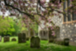 Landschapsfotografie - Kerkhof bij Canterbury - Marielle de Valk