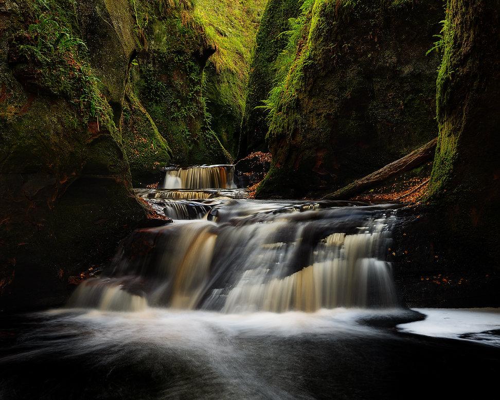 Devil's Pulpit - Reisblog Gelncoe (Schotland) - Jos Pannekoek