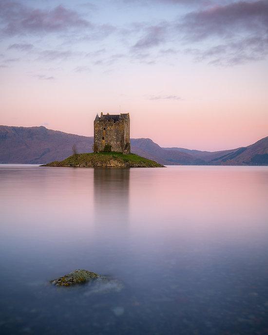 Castle Stalker - Reisblog Gelncoe (Schotland) - Jos Pannekoek