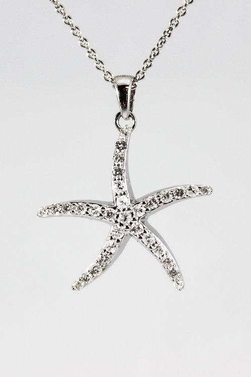 White Gold Starfish