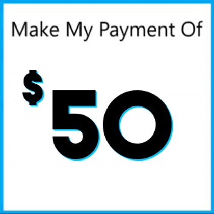 Layaway Payment of $50