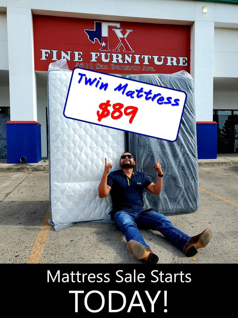 Twin Size Mattress Only Starting from $89
