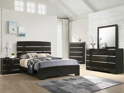 Chantal  B4830 Panel Bedroom Set