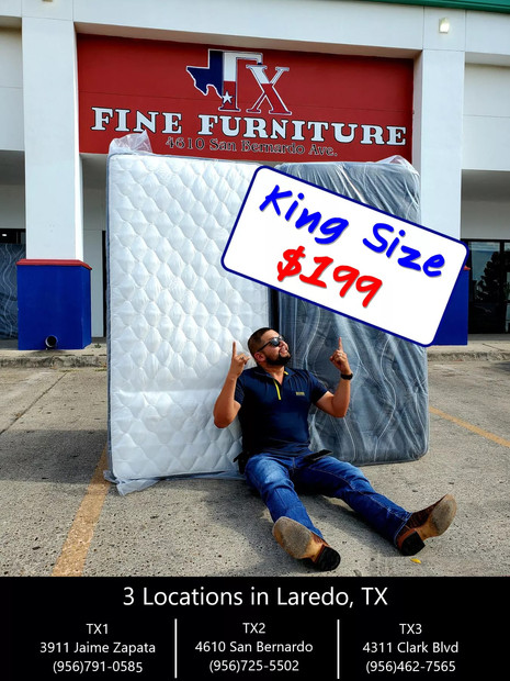 King Size Mattress Only Starting from $199